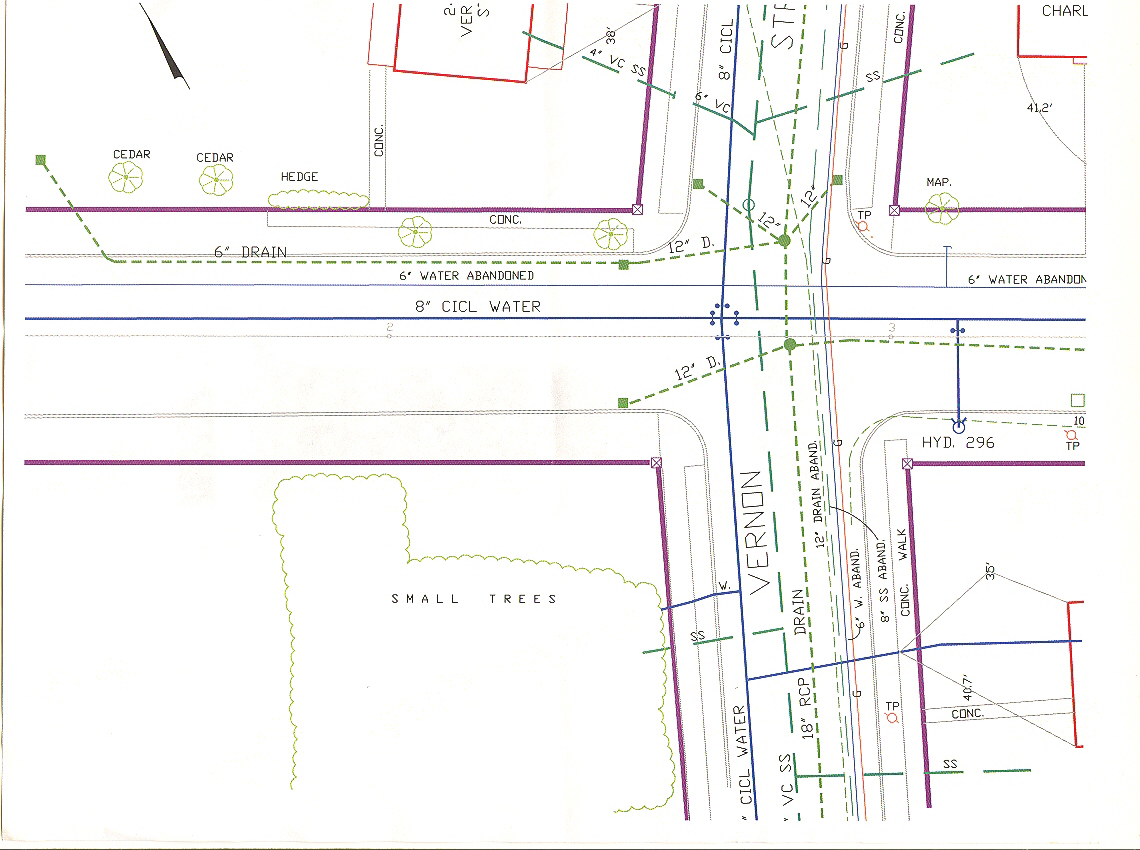 February 2010 design construction of spartan for How to run a sewer line