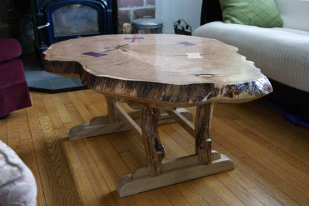 Coffee table 3 quarters