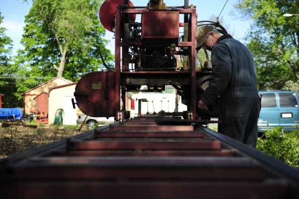 Sawmill setting up