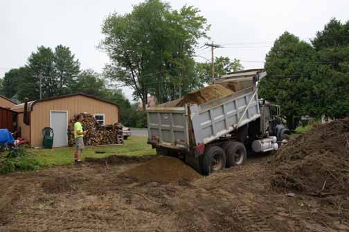 Dump of gravel for driveway - $350