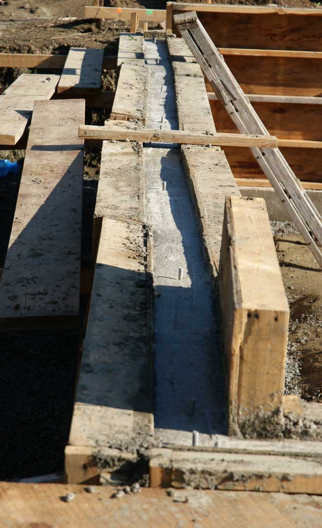 Stemwall For House Poured Design Construction Of