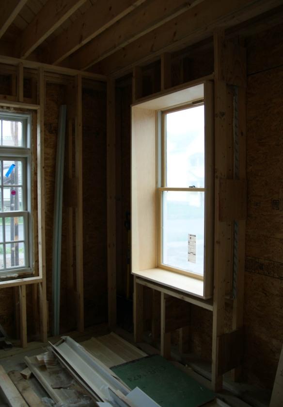 Week of rain brings window extension jambs design for Window jamb design