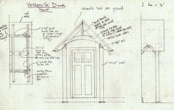 Vernon St door plans