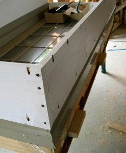 Extension jambs for thick double stud wall use kreg screws