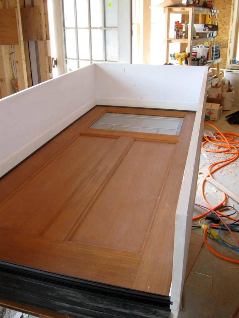 Interior door jamb extensions - How to build a door jamb for interior doors ...