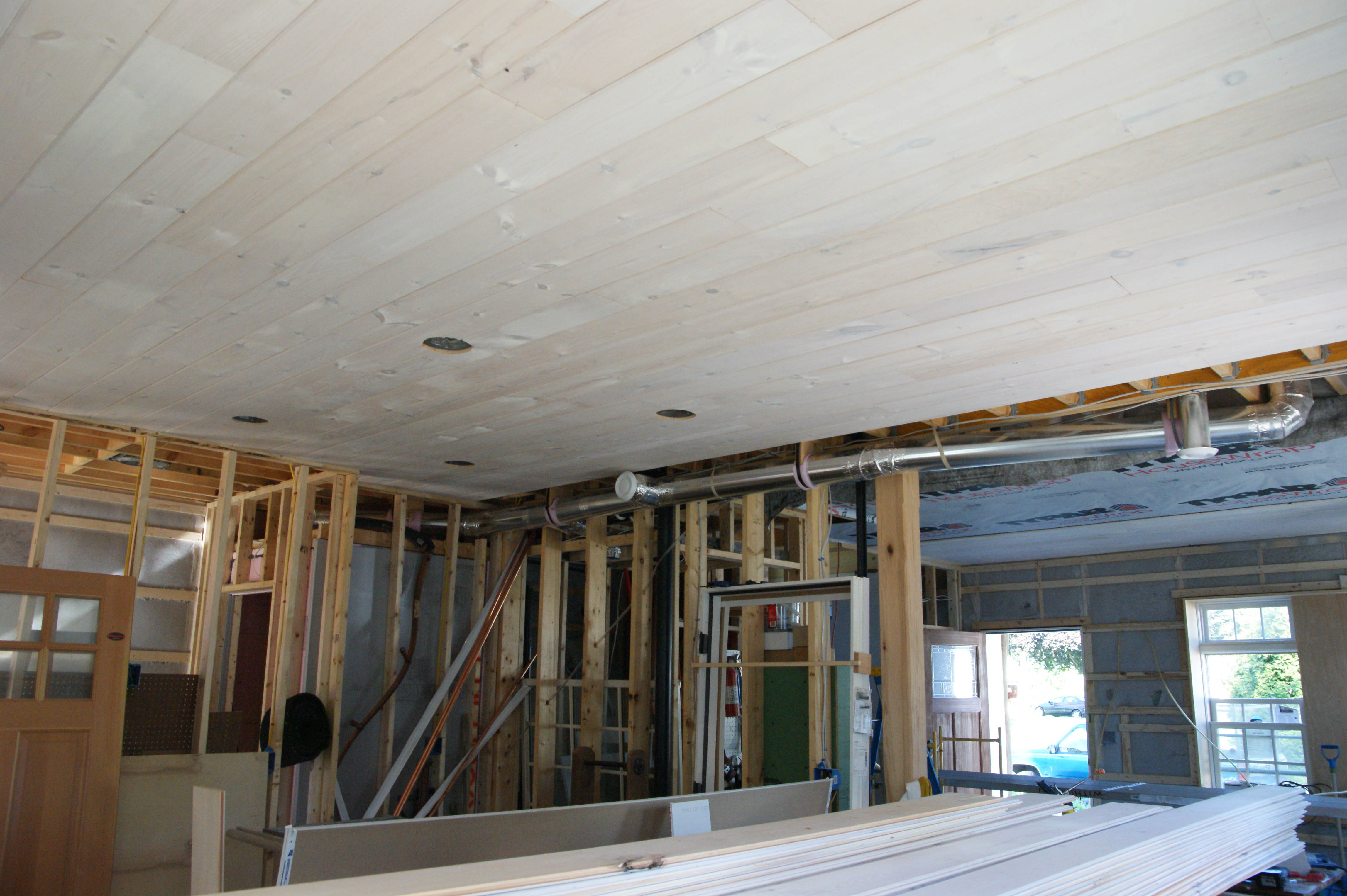 Ceilings and drywall | Design & Construction of Spartan & Hannah's Home